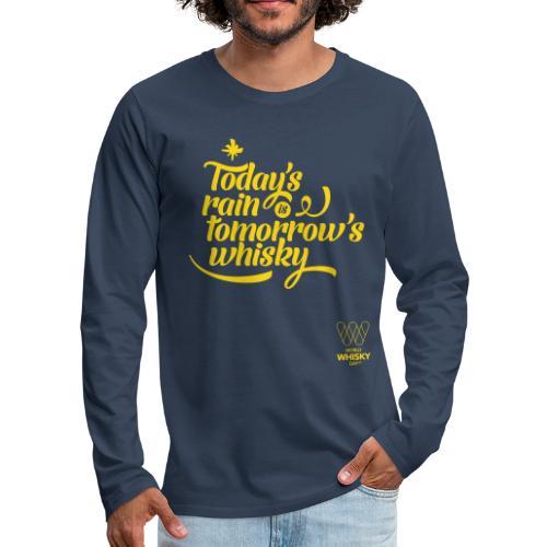 Today s Rain - Men's Premium Longsleeve Shirt