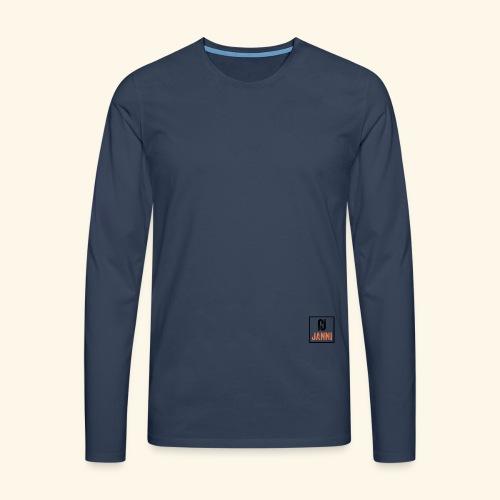 Janni Original Design - Herre premium T-shirt med lange ærmer