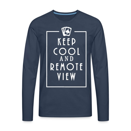 Keep Cool and Remote View - Men's Premium Longsleeve Shirt
