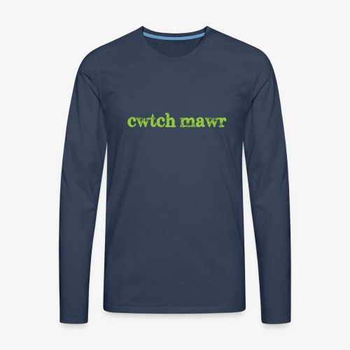cwtchmawr1 - Men's Premium Longsleeve Shirt