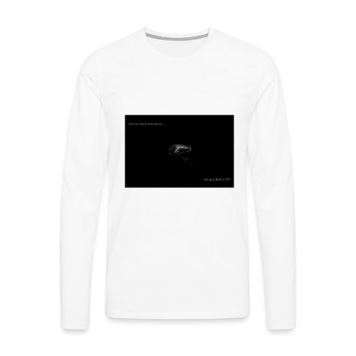 Lost Ma Heart - Men's Premium Longsleeve Shirt