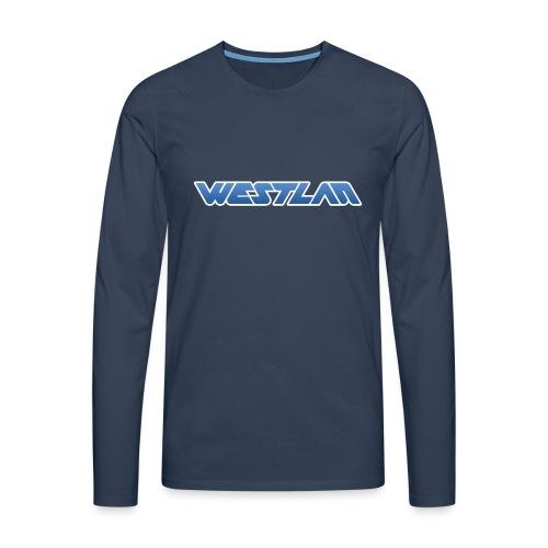 WestLAN Logo - Men's Premium Longsleeve Shirt