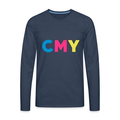 CMYK - Mannen Premium shirt met lange mouwen