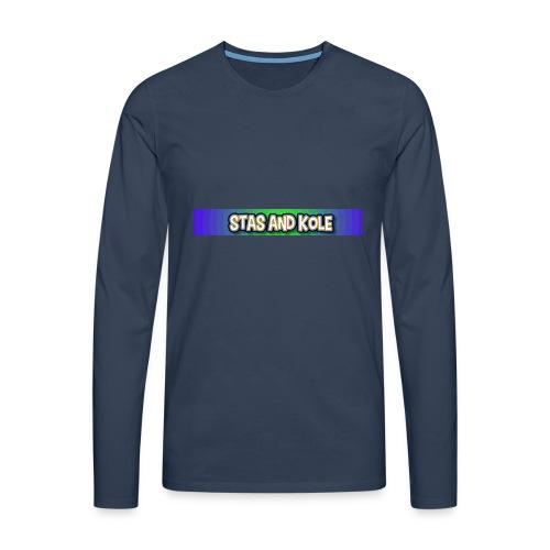 Shirt Logo - Men's Premium Longsleeve Shirt