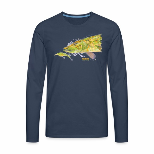 Camo Pike - Men's Premium Longsleeve Shirt