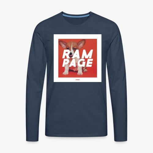 RAMPAGE #01 - Männer Premium Langarmshirt