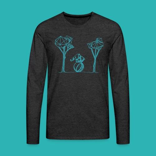Rotolare_o_capitombolare_lightblu-png - Maglietta Premium a manica lunga da uomo
