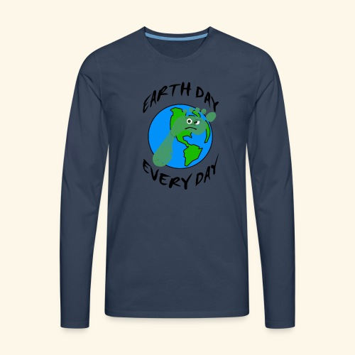 Earth Day Every Day - Männer Premium Langarmshirt
