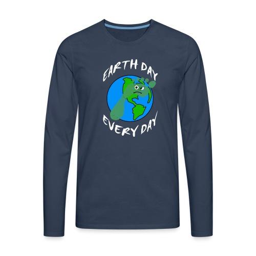 Earth Day Every Day - Männer Premium Langarmshirt