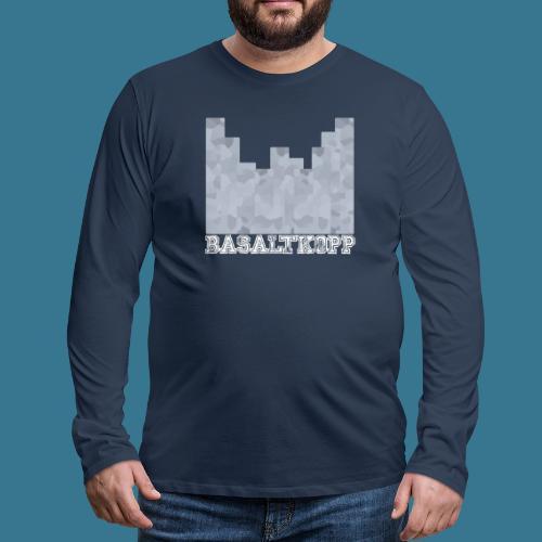 Basaltkopp - Männer Premium Langarmshirt