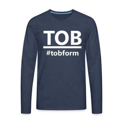 #tobform T-Shirt - Männer Premium Langarmshirt