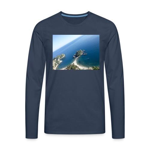 20151108_125732-jpg - Maglietta Premium a manica lunga da uomo