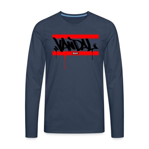 #EASY Graffiti Vandal T-Shirt - Maglietta Premium a manica lunga da uomo