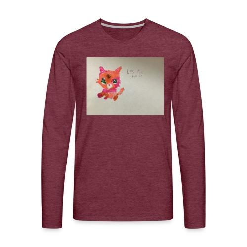 Little pet shop fox cat - Men's Premium Longsleeve Shirt