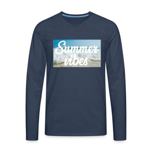 Summervibes - Männer Premium Langarmshirt