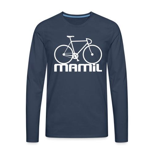 MAMiL Water bottle - Men's Premium Longsleeve Shirt