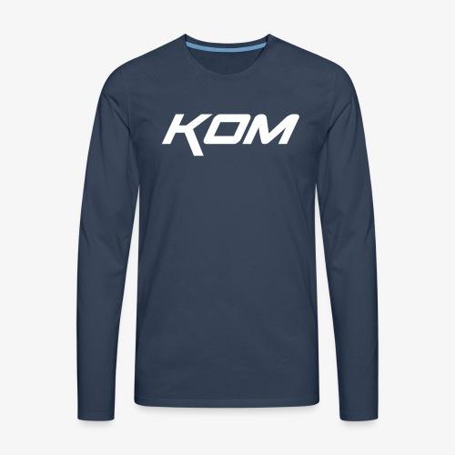 king of the mountain mtb - Men's Premium Longsleeve Shirt