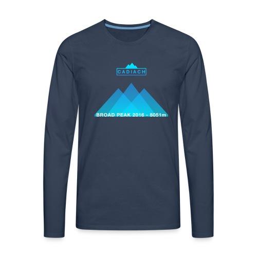 Cadiach Broad Peak 2016 - Mujer - Camiseta de manga larga premium hombre