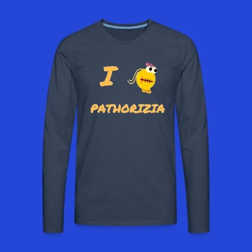 Love Pathorizia - Maglietta Premium a manica lunga da uomo