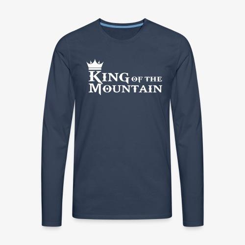 mtb king of the mountain - Men's Premium Longsleeve Shirt