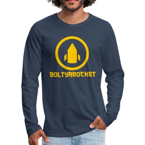 Bolt Ya Rocket - Men's Premium Longsleeve Shirt