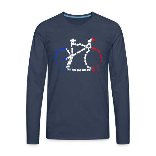 French bike chain - Men's Premium Longsleeve Shirt