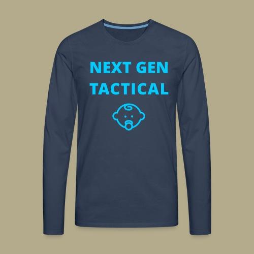 Tactical Baby Boy - Mannen Premium shirt met lange mouwen
