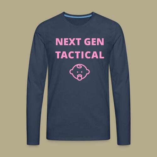 Tactical Baby Girl - Mannen Premium shirt met lange mouwen