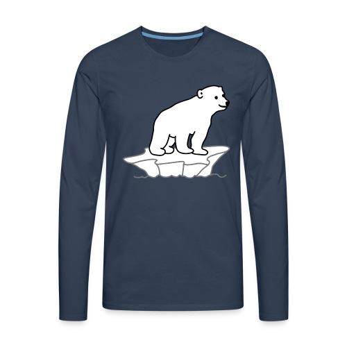 Eisbaer - Männer Premium Langarmshirt