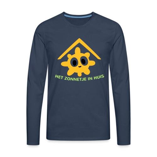 Grappige Rompertjes: Het zonnetje in huis - Mannen Premium shirt met lange mouwen