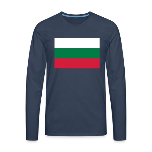 Bulgaria - Mannen Premium shirt met lange mouwen