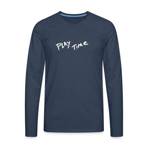 Play Time Tshirt - Men's Premium Longsleeve Shirt