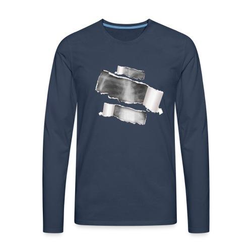 Chest X-Ray - Maglietta Premium a manica lunga da uomo