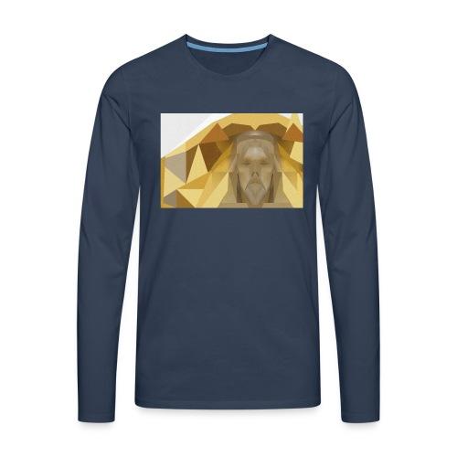In awe of Jesus - Men's Premium Longsleeve Shirt