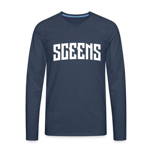 Sceens Baseball Cap - Mannen Premium shirt met lange mouwen