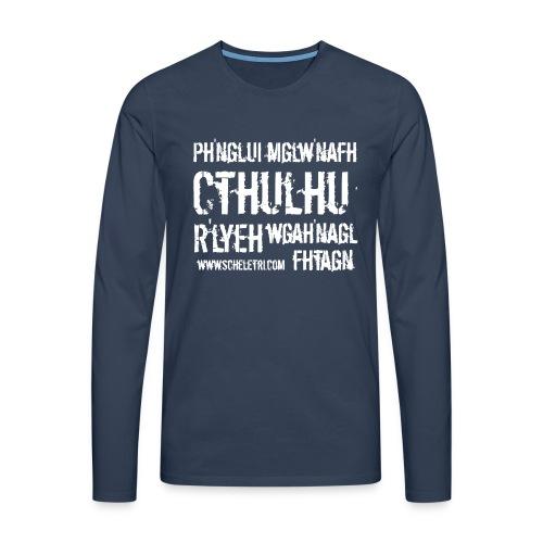 Cthulhu - Maglietta Premium a manica lunga da uomo
