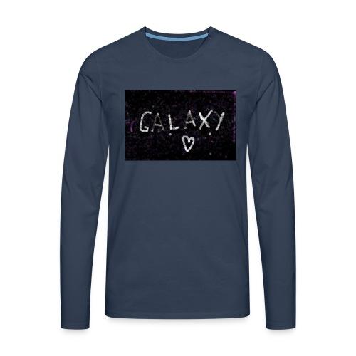 galaxy - Männer Premium Langarmshirt