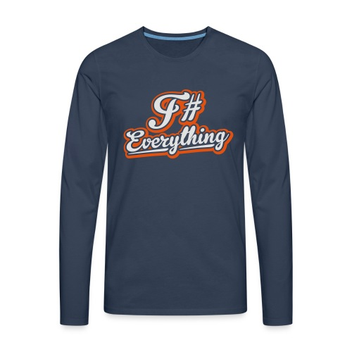 F# Everything - Men's Premium Longsleeve Shirt