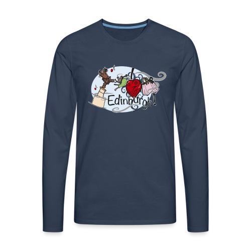 I love Edinburgh - Men's Premium Longsleeve Shirt