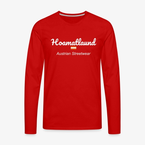 hoamatlaund austrain Streetwear - Männer Premium Langarmshirt