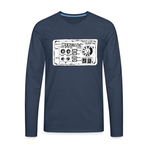 Drum Machine's R Ace! - Men's Premium Longsleeve Shirt
