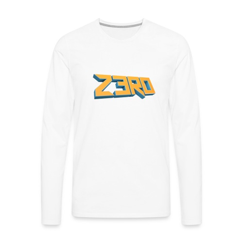 The Z3R0 Shirt - Men's Premium Longsleeve Shirt