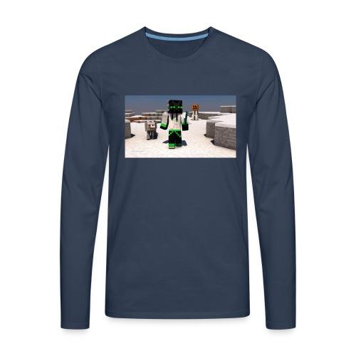 t-shirt - Långärmad premium-T-shirt herr