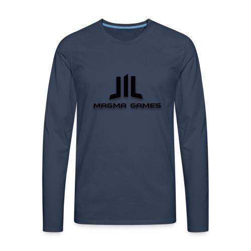 Magma Games 5/5s hoesje - Mannen Premium shirt met lange mouwen