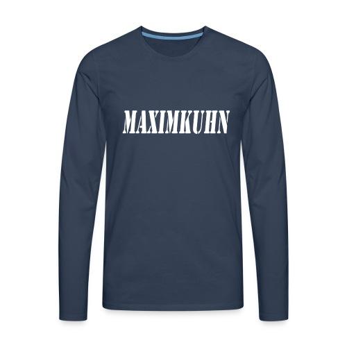 maximkuhn - Mannen Premium shirt met lange mouwen