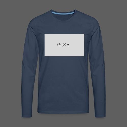 john tv - Men's Premium Longsleeve Shirt