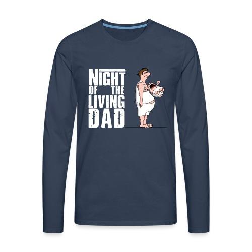 bester Papa - Superdad - Daddy of the year - Männer Premium Langarmshirt