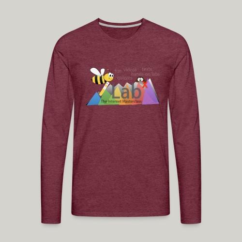 iLabX - The Internet Masterclass - Men's Premium Longsleeve Shirt