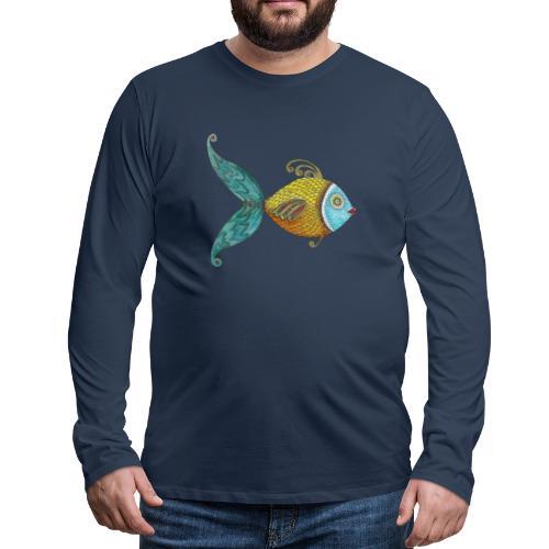 Le poisson d'Annie - T-shirt manches longues Premium Homme