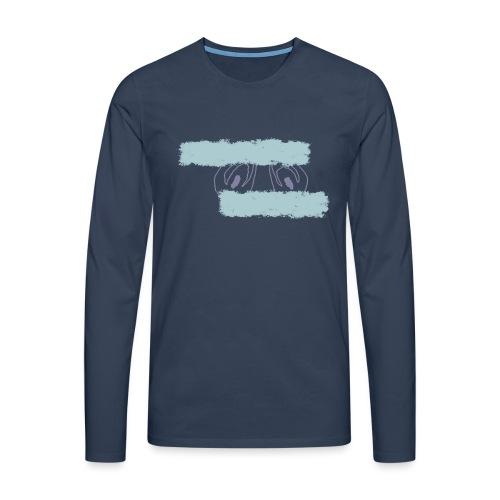 nieobcy domyślny - Koszulka męska Premium z długim rękawem
